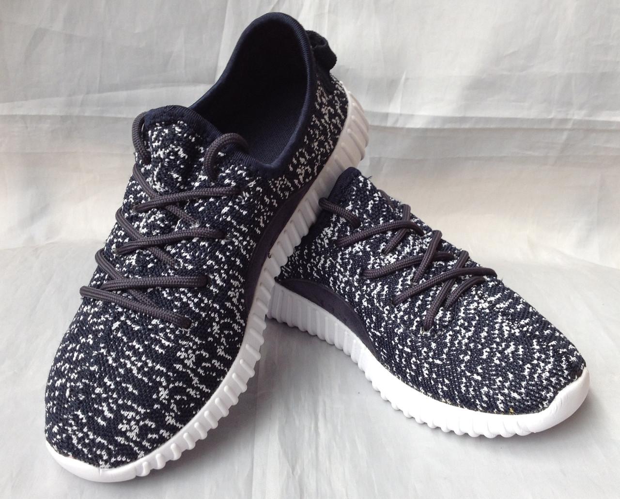 """Кроссовки для подростков """"Adidas YZY"""" №7205-4 (синие)"""