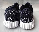 """Кроссовки для подростков """"Adidas YZY"""" №7205-4 (синие), фото 4"""