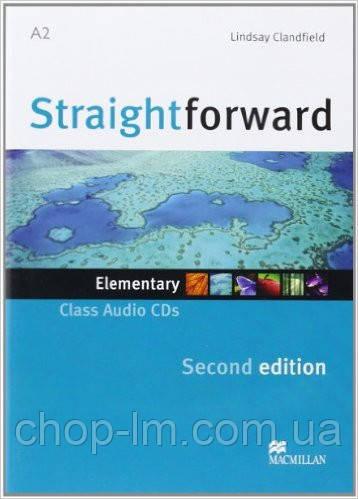 Straightforward Second Edition Elementary Class Audio CD (аудио диск к курсу Elementary)