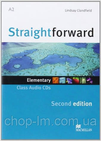 Straightforward Second Edition Elementary Class Audio CD (аудио диск к курсу Elementary), фото 2