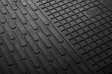 Резиновый водительский коврик в салон Dacia Dokker 2012- (STINGRAY), фото 2