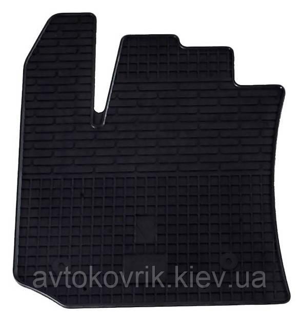 Резиновый водительский коврик в салон Dacia Dokker 2012- (STINGRAY)