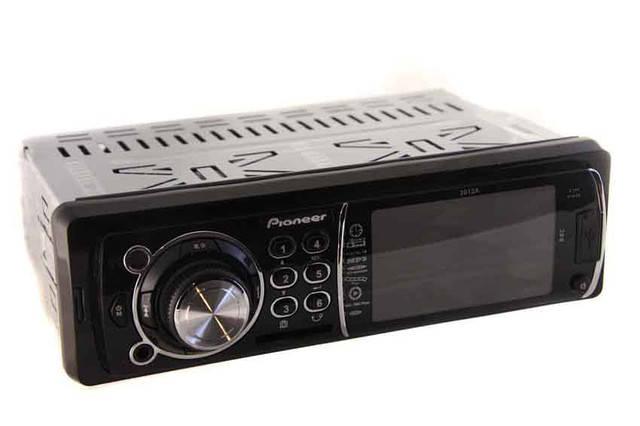 Автомагнитола PIONEER 3012A LCD 3',USB,SD,FM,AUX,пульт.Купить Харьков,Киев,Кременчуг,Донецк, фото 2