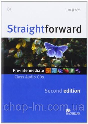Straightforward Second Edition Pre-Intermediate Class Audio CD (аудио диск к курсу)