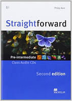 Straightforward Second Edition Pre-Intermediate Class Audio CD (аудио диск к курсу)