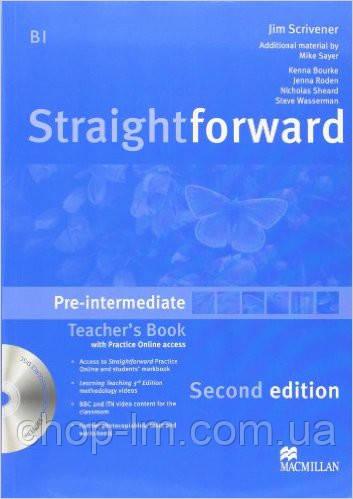 Straightforward Second Edition Pre-Intermediate Teacher's Book Pack (книга для учителя с диском)