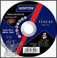 Круг отрезной по металлу NORTON 125 х 3,0 х 22