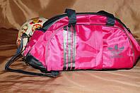 Спортивная сумка Adidas модель M-530.(Розовый+серый) ХИТ ПРОДАЖ!!! Отличное качество - лучшая цена!, фото 1