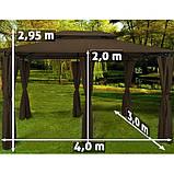 Павільйон - намет садовий Topas 3х4м. Німеччина, фото 2