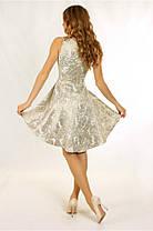 Платье №0611, бежевое, размер 36. Цена розницы 1620 гривен., фото 2