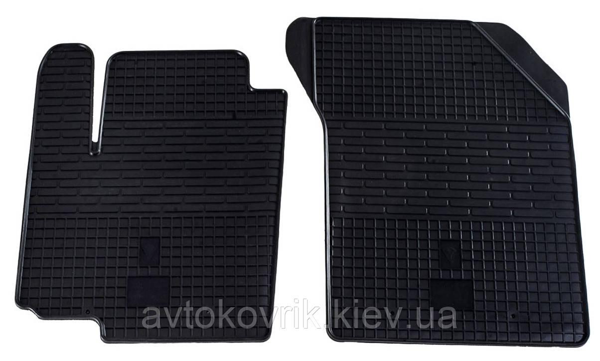 Резиновые передние коврики в салон Fiat Sedici 2006- (STINGRAY)