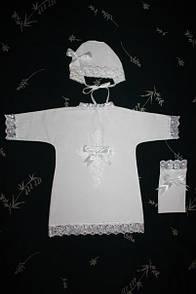 """Крестильная рубашка """" Традиция"""" для девочки"""