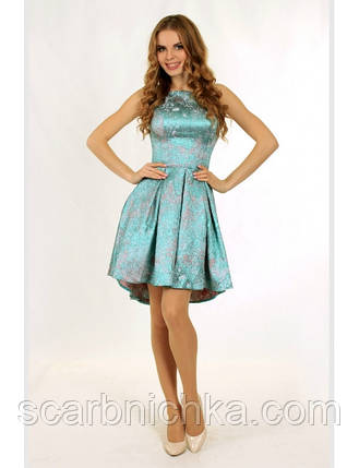 Платье №0611, голубое, размер 38. Цена розницы 1620 гривен., фото 2