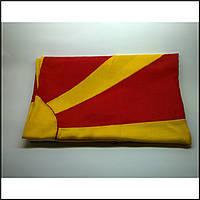 Флаг Македонии (Аппликация) - (1м*1.5м)