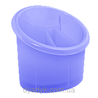 Подставка для столовых приборов (овал) Фиолетовый