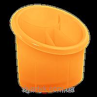 Подставка для столовых приборов (овал) Оранжевый