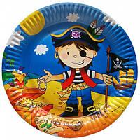 """Паперові тарілки """"Маленький пірат"""""""