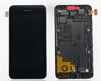 Дисплей с сенсорным экраном для телефона NOKIA 530 LUMIA  (RM-1019)
