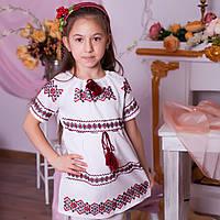 Вишите плаття (ручна робота, домоткане полотно 5-6 років), фото 1