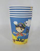 "Паперові стаканчки ""Маленький пірат"""