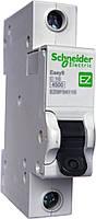 Автоматический выключатель Schneider C 1п 10А