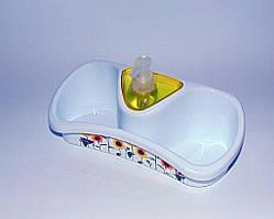 Кухонна поличка з дозатором для миючого засобу