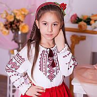 Вишиванка для дівчинки (ручна робота, 6-7 років), фото 1