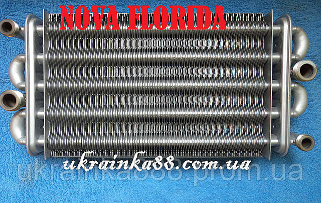 Теплообменник Nova Florida ( Fondital)  Dual Line,  Flores,  Aries оригинал