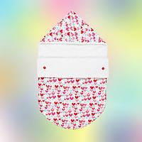 Стильный конверт для новорожденного