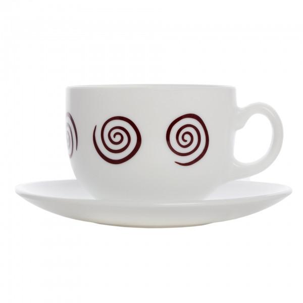 Сервиз чайный на 6 персон Sirocco Brown