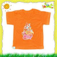 Детская трикотажная футболка