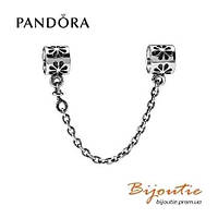Pandora защитная цепочка МАРГАРИТКИ 790385 серебро 925 Пандора оригинал