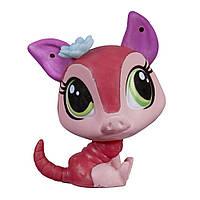 Hasbro Littlest Pet Shop Одиночная зверюшка Рувим McScales
