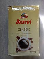 Кофе заварной молотый Bravos Classic 1000 грамм