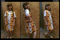 Платье-туника  детское.