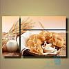 Модульная картина Деревенский завтрак из 3 фрагментов