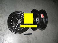 Диск колесный DAEWOO Lanos Ланос 13х5,0 4x100 Et 49 DIA 56,56 черный (пр-во КрКЗ) Т1301-3101015.27