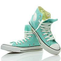 Кеды женские Converse All Star голубые