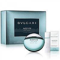 Bvlgary Aqua Marine  (для мужчин)  (100ml + as75ml + sg75ml + сумка) набор