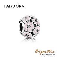 Pandora шарм РОЗОВЫЕ ПРИМУЛЫ НА ЛУГУ №791488EN68 серебро 925 Пандора оригинал