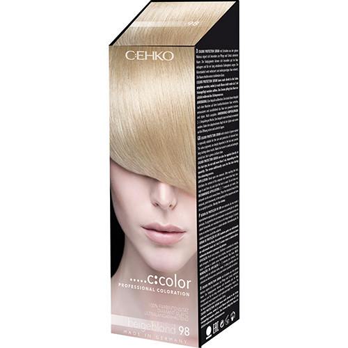 C:EHKO С:COLOR Крем-краска (Бежевый блондин, 98)  50мл