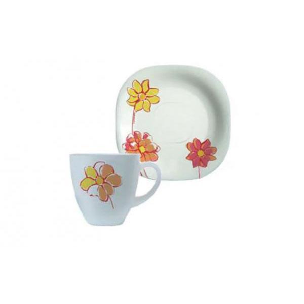 Сервиз чайный на 6 персон Fresh Garden(желтый)