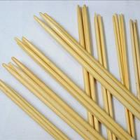 Спицы бамбуковые двусторонние 25 см х 4 шт каждого размера набор 11 размеров