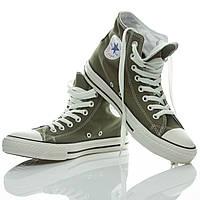 Кеды Converse All Star коричневые высокие