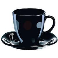 Сервиз чайный на 6 персон Kyoko Black