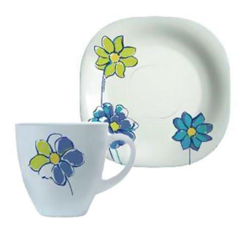 Сервиз чайный на 6 персон Fresh Garden(синий)