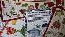 Рушник сатинове для кухні 50х70см Zastelli