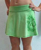 Женская юбка Umbro (600534) зеленая код 0123 Б