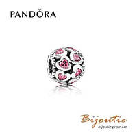 Pandora шарм РОЗОВЫЕ СЕРДЦА  №791250CZS серебро 925 Пандора оригинал