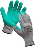 Х/б трикотажная перчатка покрытая латексом